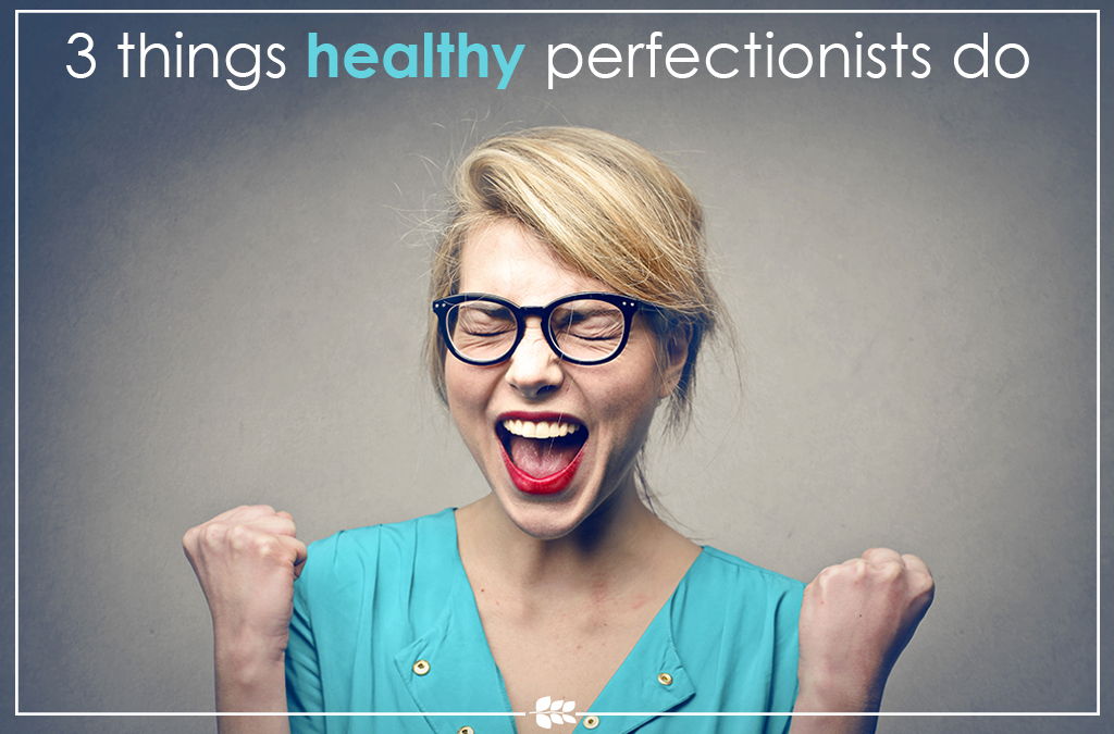 woman excited healthy perfectionist